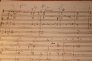 Manuscript van het 3e deel van Calliope Tsoupaki's Groeibriljant
